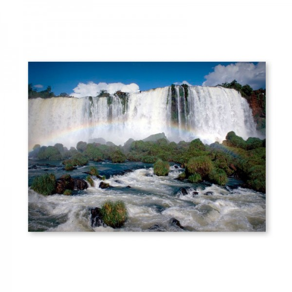 Картина обогреватель «Большой водопад» 60X80 см. (0.5 кВт.)