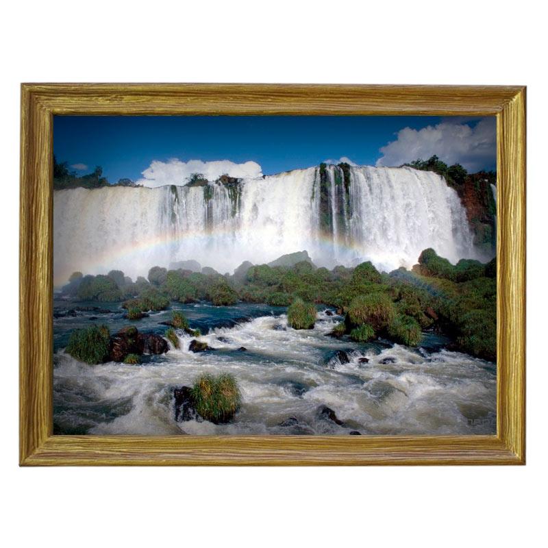Картина обогреватель «Большой водопад» 70X90 см. (0.5 кВт.)