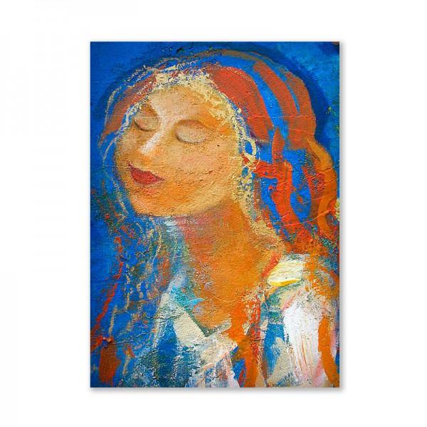 Картина обогреватель «Девушка» 60X80 см. (0.5 кВт.)