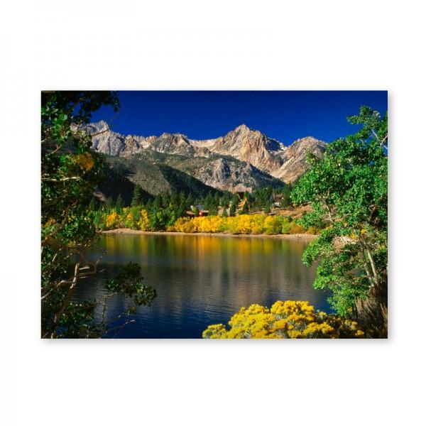 Картина обогреватель «Горное озеро» 60X80 см. (0.5 кВт.)