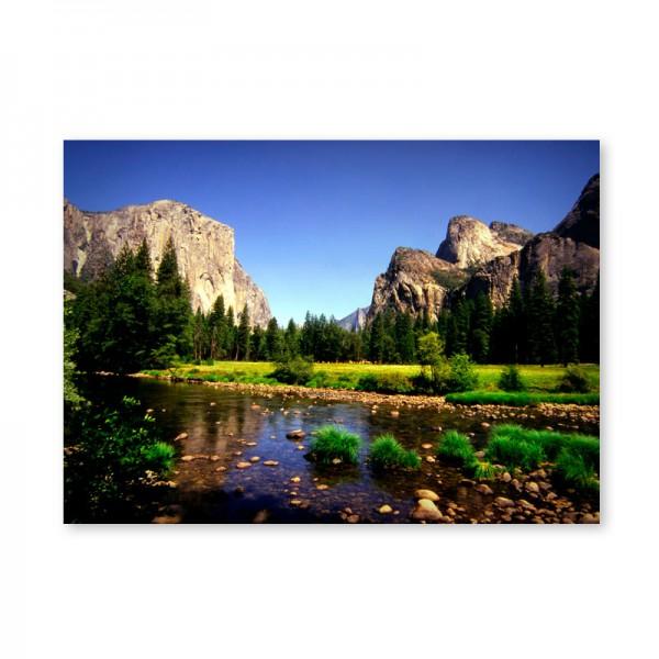 Картина обогреватель «Горный ручей» 60X80 см. (0.5 кВт.)