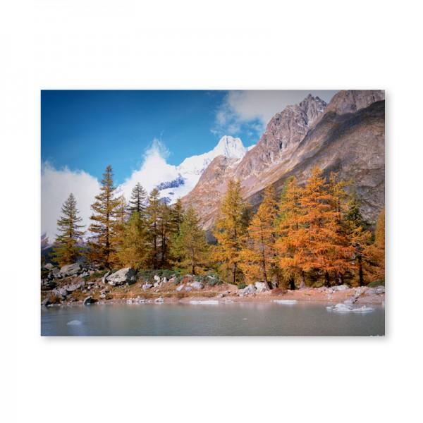 Картина обогреватель «Горы» 60X80 см. (0.5 кВт.)