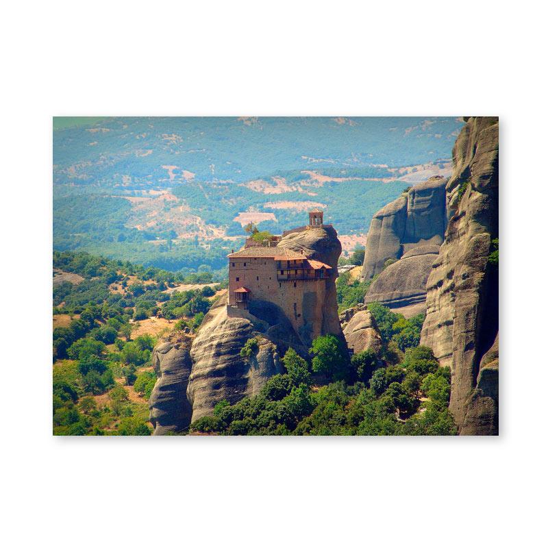 Картина обогреватель «Греция. Метеоры 1» 60X80 см. (0.5 кВт.)