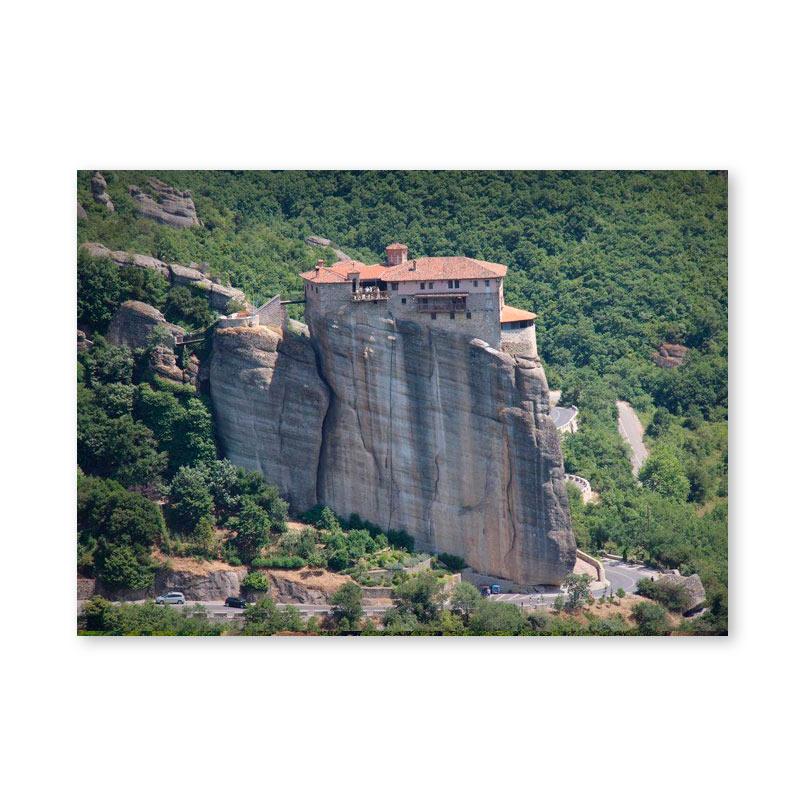 Картина обогреватель «Греция. Метеоры 2» 60X80 см. (0.5 кВт.)