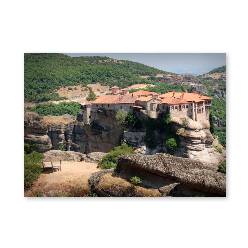 Картина обогреватель «Греция. Метеоры 3» 60X80 см. (0.5 кВт.)