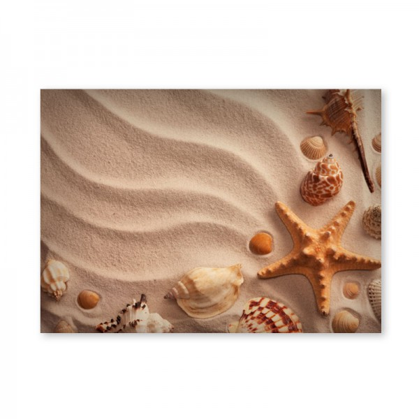 Картина обогреватель «На песке» 60X80 см. (0.5 кВт.)