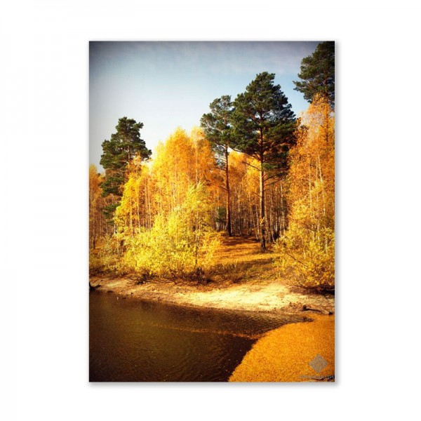 Картина обогреватель «Осенний лес 2» 60X80 см. (0.5 кВт.)