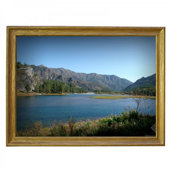 Картина обогреватель «Озеро в горах» 70X90 см. (0.5 кВт.)
