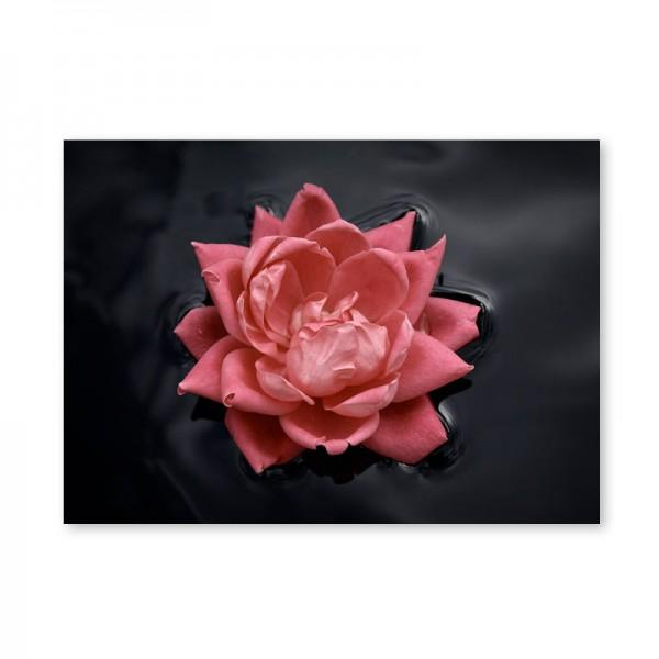Картина обогреватель «Роза на воде» 60X80 см. (0.5 кВт.)