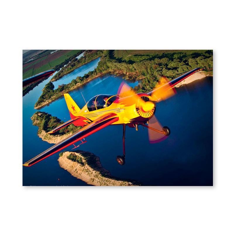 Картина обогреватель «Самолёт 1» 60X80 см. (0.5 кВт.)