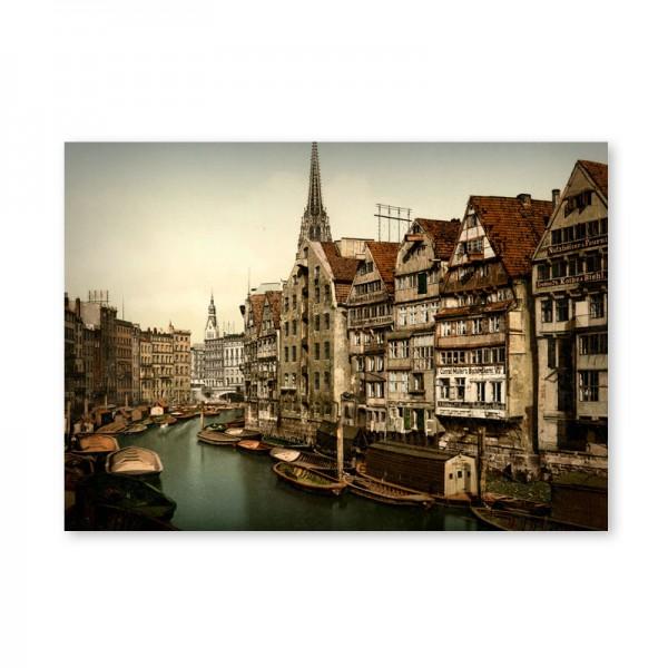 Картина обогреватель «Старый Гамбург» 60X80 см. (0.5 кВт.)