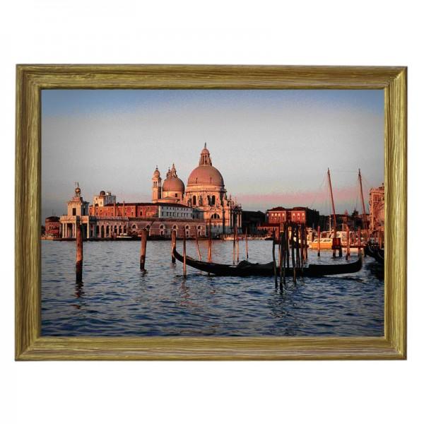 Картина обогреватель «Венеция» в рамке ПВХ 70X90 см. (0.5 кВт.)