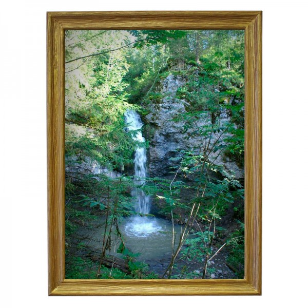 Картина обогреватель «Водопад» в рамке ПВХ 70X90 см. (0.5 кВт.)