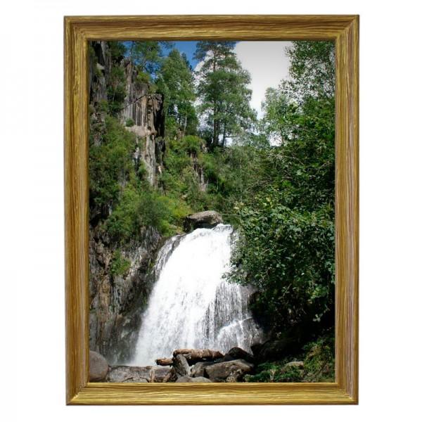 Картина обогреватель «Водопад-2» в рамке ПВХ 70X90 см. (0.5 кВт.)