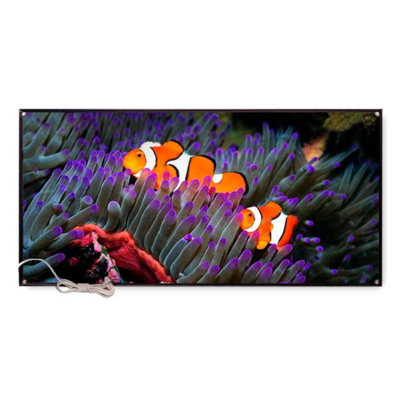 Картина обогреватель  «Рыбки - Летнее время» 45X95 см. (0.48 кВт.)
