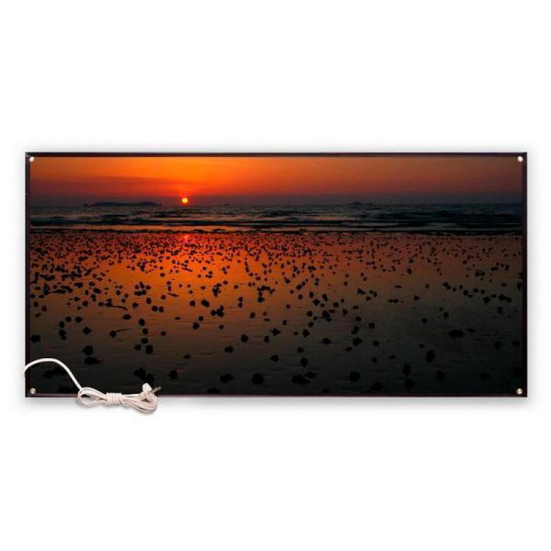 Картина обогреватель «Закат - Летнее время» 45X95 см. (0.48 кВт.)