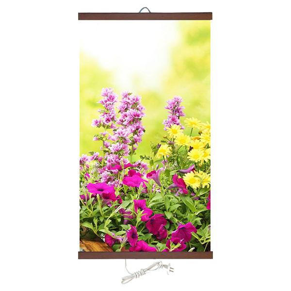 Бархатное тепло «Цветы» 60X100 см. (0.4 кВт.)