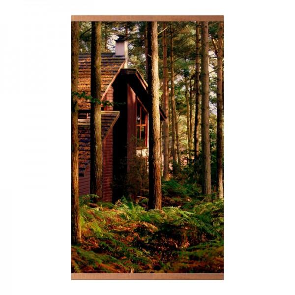 Бархатное тепло «Дом в лесу» 60X100 см. (0.4 кВт.)