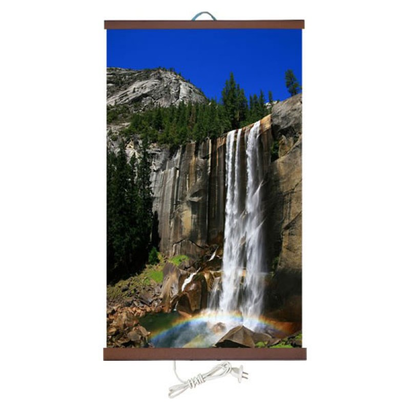 Бархатное тепло «Водопад» 60X100 см. (0.4 кВт.)