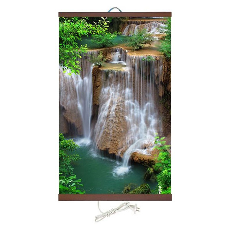Бархатное тепло «Водопад Джур-Джур» 60X100 см. (0.4 кВт.)
