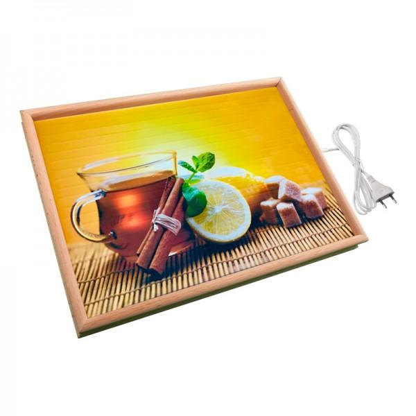 Настенный обогреватель картина «Чай» 32X45 см. (0.4 кВт.)