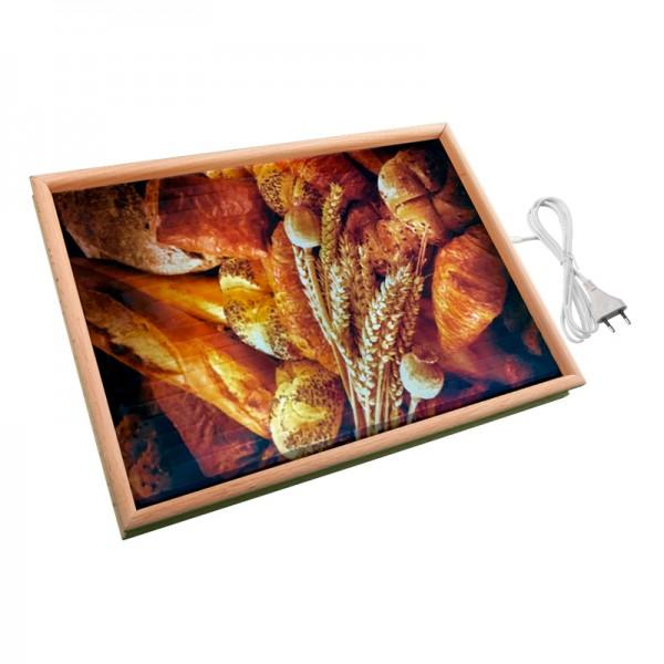 Настенный обогреватель картина «Хлеб» 32X45 см. (0.4 кВт.)