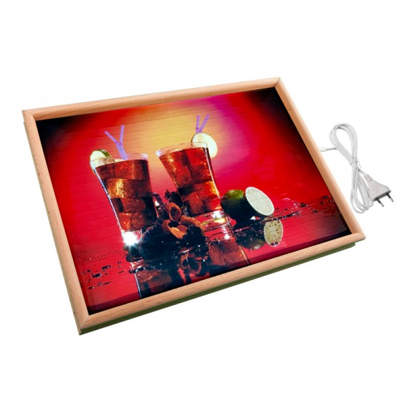 Настенный обогреватель картина «Коктель» 32X45 см. (0.4 кВт.)