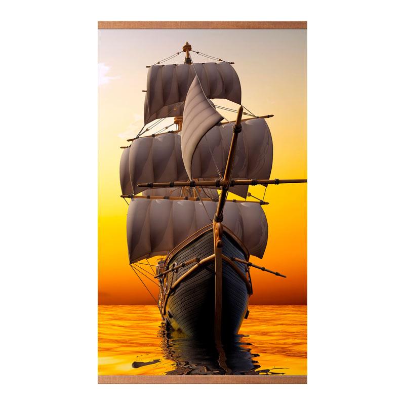 Домашний очаг «Корабль» 60X105 см. (0.5 кВт.)