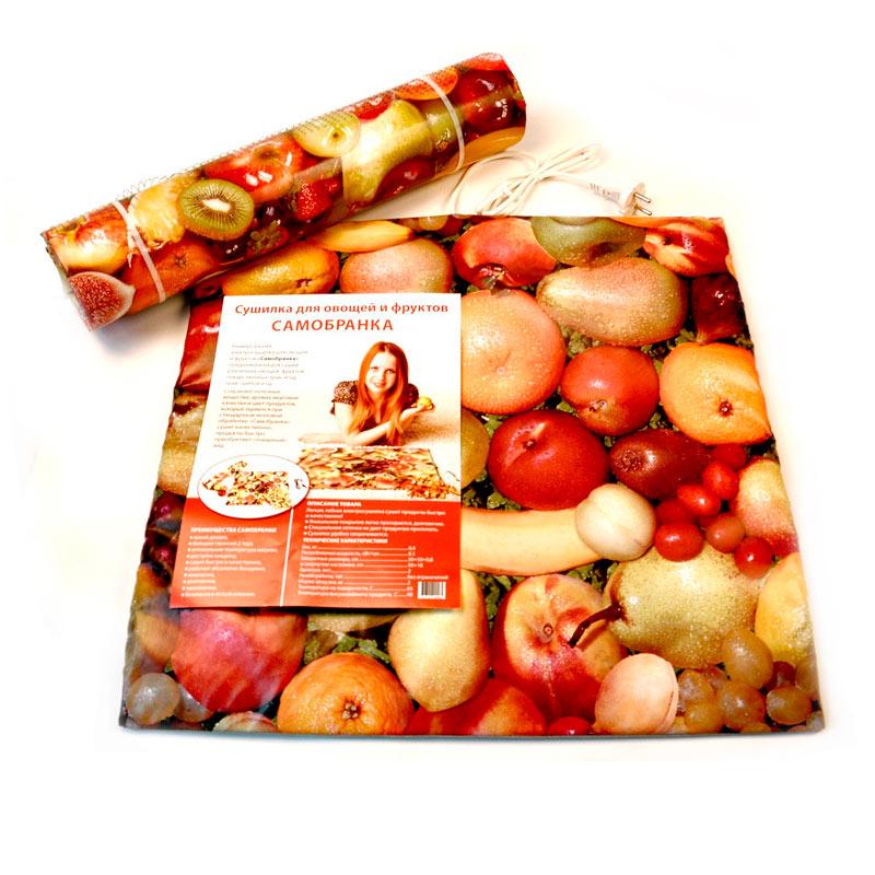 Электросушилка для овощей, грибов, фруктов, трав «Самобранка» 50X50 см. (0.1 кВт.)